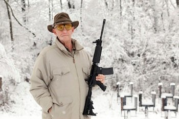 Dick Metcalf, former employee of Guns & Ammo (Photo: NY Times)