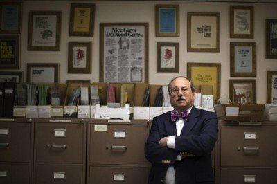 Alan Gottlieb, president of the CCRKBA.  (Photo: NY Daily News)