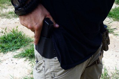 The XDs is big enough to be carried OWB and small enough to ride inside the waistband.