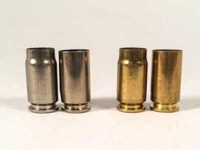 It doesn't look like much, but the cartridge case length difference between .357 Sig and .40 S&W is enough to worry about. Don't try to make your own brass from .40 S&W cases.