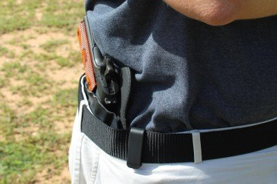 The proximity to the body makes the draw more complicated, but is the price you pay for concealment.