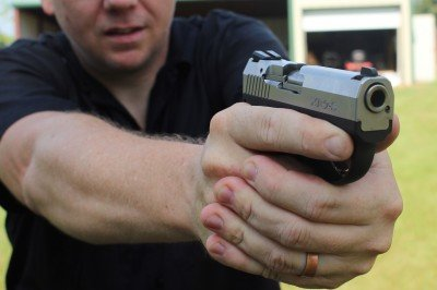 The sights and other surfaces are all made for snag free concealed carry.