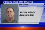 Convicted Rapist Will Hayden of 'Sons of Guns' Gets Third Life Sentence