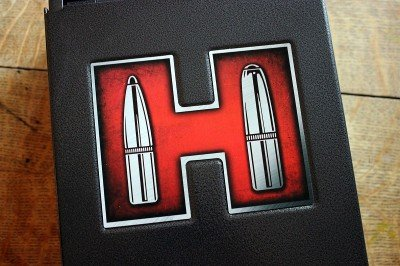 The safe's top is emblazoned with a giant H.
