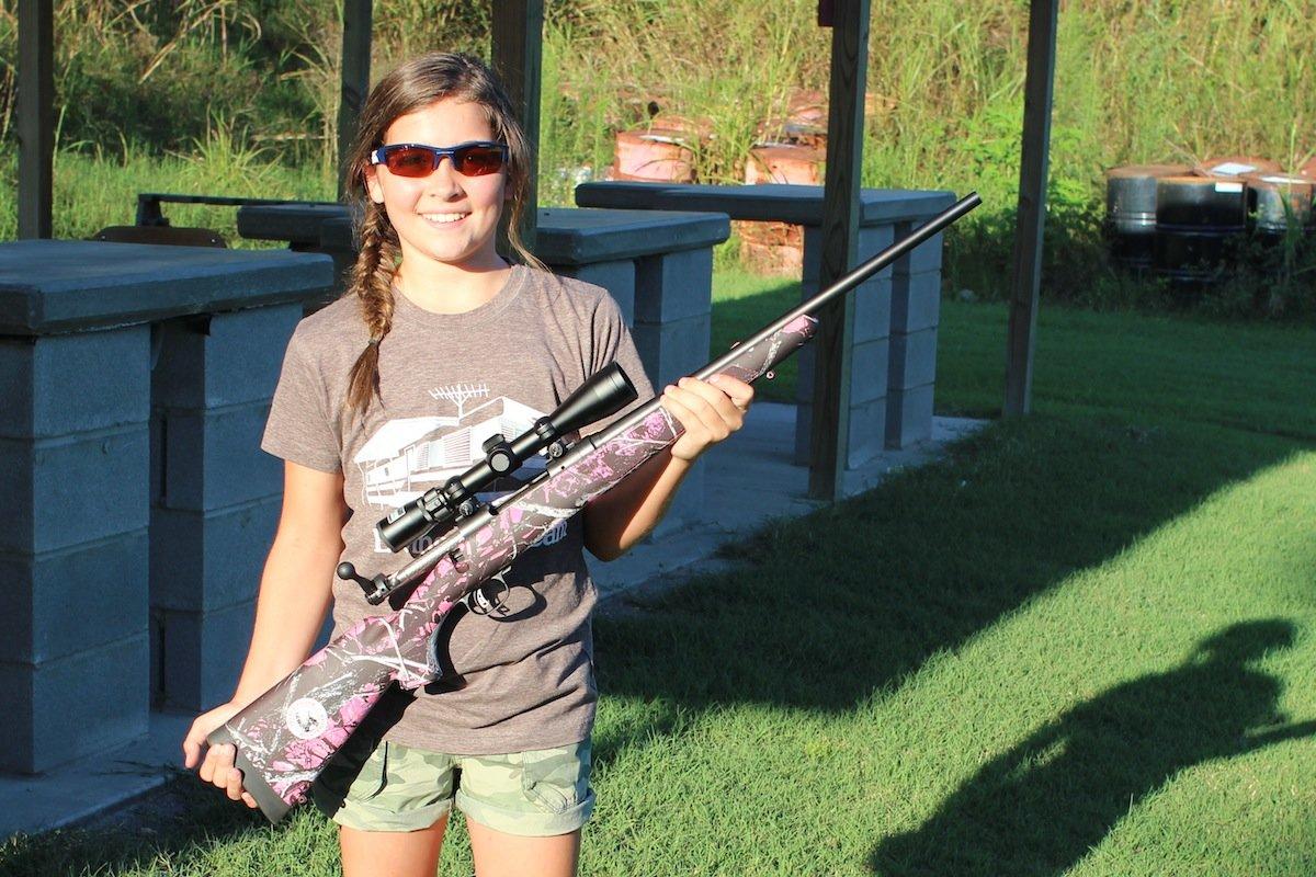 11 Year Old Girl Masters Savage 308 Gun Review