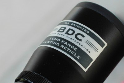 The Nikon BDC Reticle is very easy to use, and offers hold over points for known yardages.