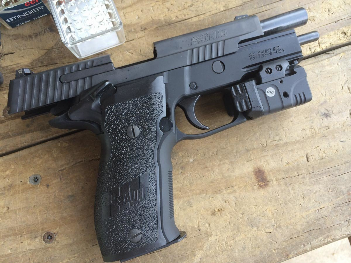 Gun Review: Sig Sauer P226 Elite SAO