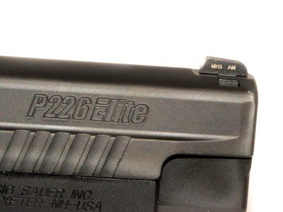 Front and rear sights all come with tritium inserts.