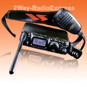There are big and small radios that can reach out to the UHF/VHF bands, as well the hardcore Ham bands in the 10-30mhz HF frequencies. Note that you need the second license in order to use these bands. There is a significant learning curve to use a full featured radio and it'll help to get an experienced Ham to help you.