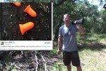 Earplugs aka 'rubber bullets' fired from shotgun