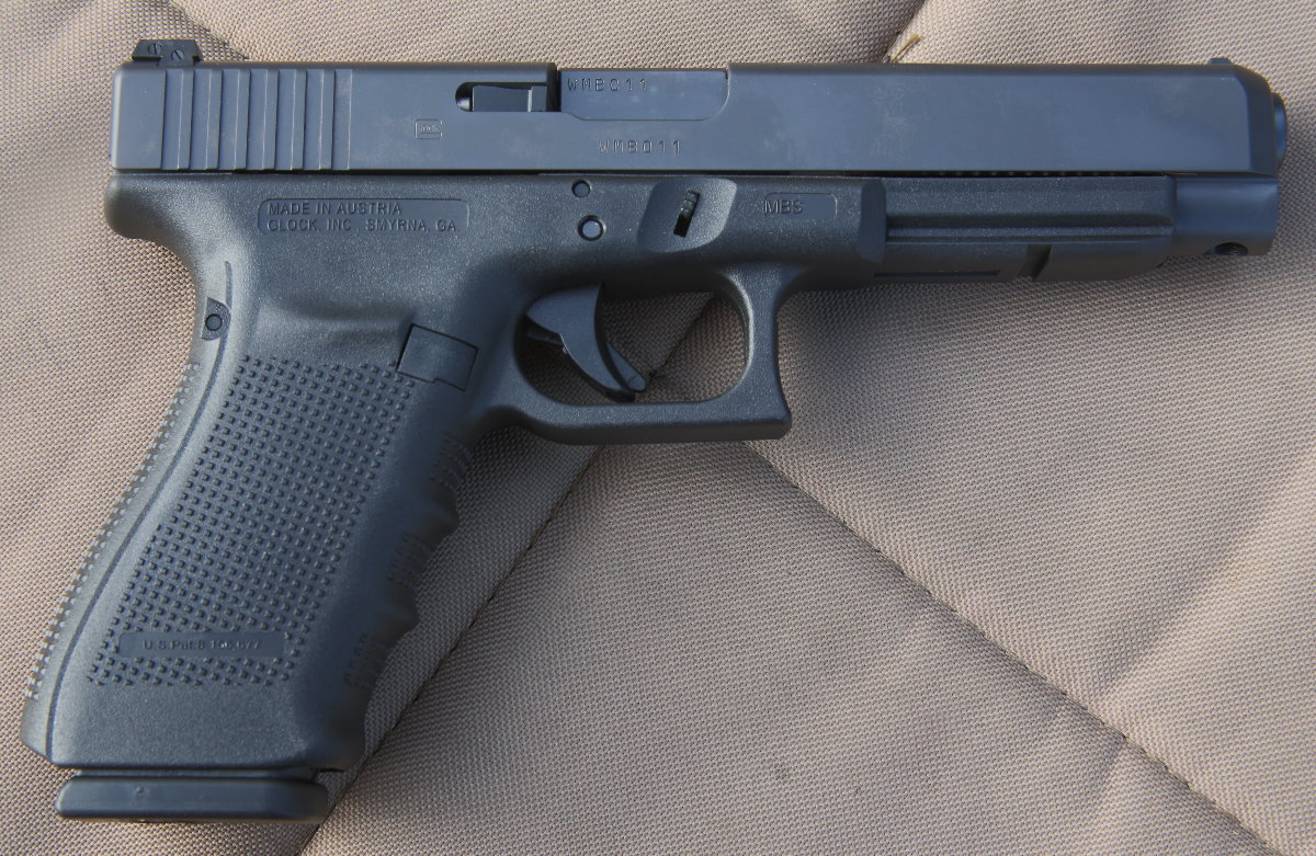 Glock 41 Gen 4 New Gun Review Competition Duty Home Defense 45