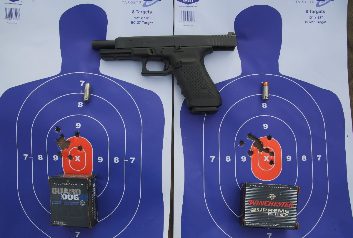 Glock 41 Gen  4 - New Gun Review - Competition/Duty/Home Defense  45