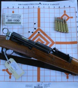 """The unissued beech gun came in around 2"""" at 100 yards."""