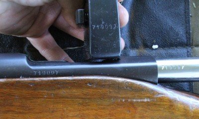 All of the numbers are matching on all of the guns. The magazine holds 6 rounds.