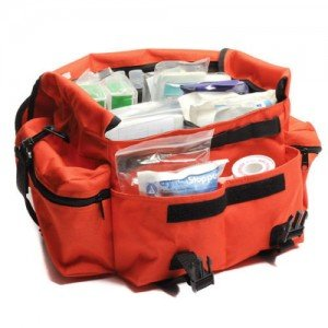 I think it is good to start with a basic stocked trauma bag. then you can add more of what you think you might need.