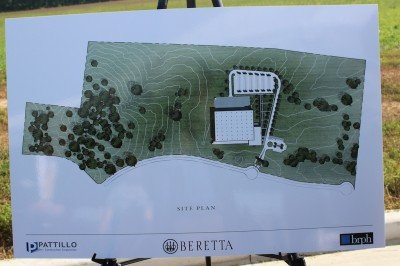 Beretta will own enough acreage to continue to expand the facility, and the designs are drawn with growth in mind.