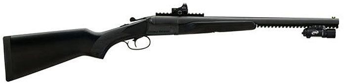 The Stoeger Double Defense is a beast. Nostalgia with a tactical twist.