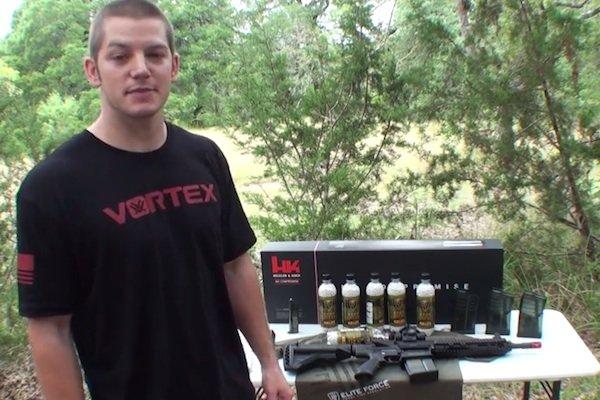 Shooting Airsoft BBs from shotgun