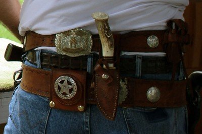 Badges? I don't have any badges on my holster.