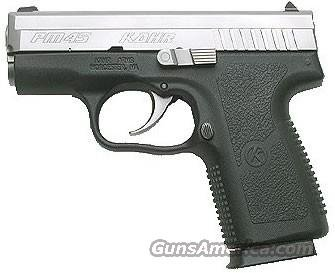 Among the high-end options, the Kahr PM45 is superb.