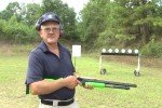 Miculek trick shooting with Mossberg 500