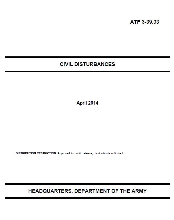 WARNING: Updated US Collapse Military Manual Surfaces