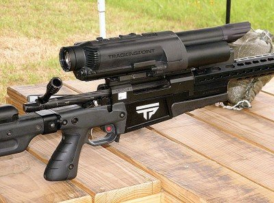 The scope is the primary component of the shooting system. It fuses the data from all of the sensors into a firing solution through the built-in ballistics computer.
