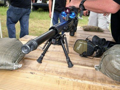 The combination of the weight of the TP XS1 .338 Lapua Magnum PGR and the effectiveness of the Blackout 90T muzzle brake greatly reduces felt recoil.