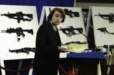 "Sen. Dianne Feinstein (D-CA), the architect of the 2014 bill to ban so-called ""assault weapons."