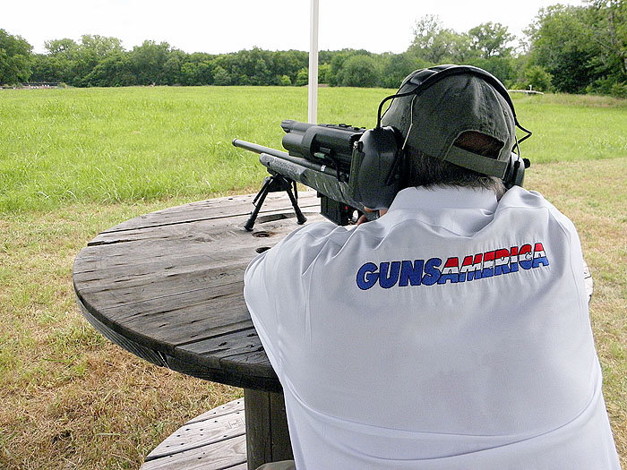 The TP 750 300H has more felt recoil than the heavier XS1, but it's still a blast to shoot.