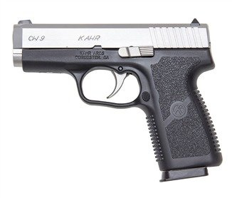 Kahr specializes in two-tone pistols.