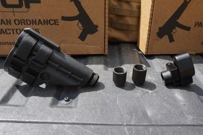 The AAF brace is an optional addition to the gun, but one that really takes the POF-5 to the next level.