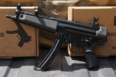 The POF-5. It has a longer barrel and more to hold onto.