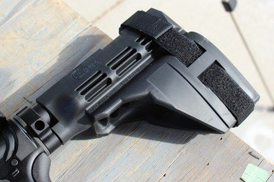 The SIG brace is an excellent addition for those of us who won't bother with SBR paperwork.