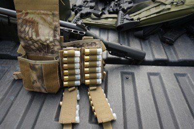How many shells would you want to carry at one time?