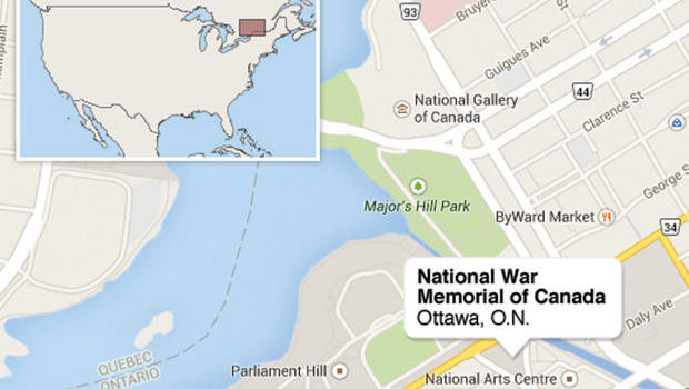 Map of the area (Photo: CBS News)
