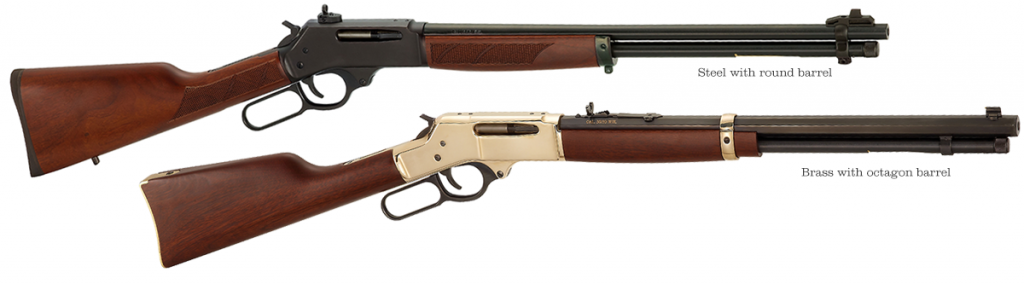 In either brass or steel, the Henry .30-30 is a great looking, hard working rifle.