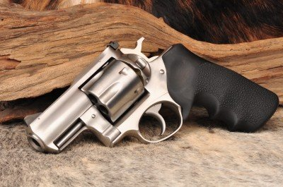 The left side of the stock Ruger.