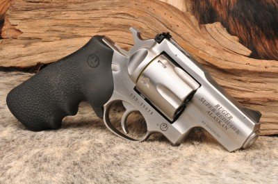 The right side of the stock Ruger.