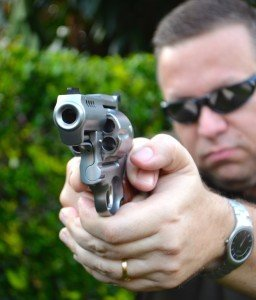 Perhaps the most impressive angle for a .44 Magnum is from the front!