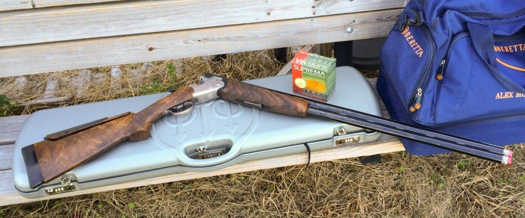 This shotgun is at home on the skeet, trap and sporting clays fields.