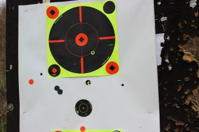 This, with no adjustment to the scope, at 300 yards after dropping the case out of the back of a Jeep onto a gravel road.