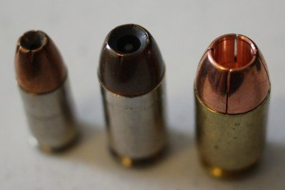 9mm, .45 ACP, and .50 G.I.