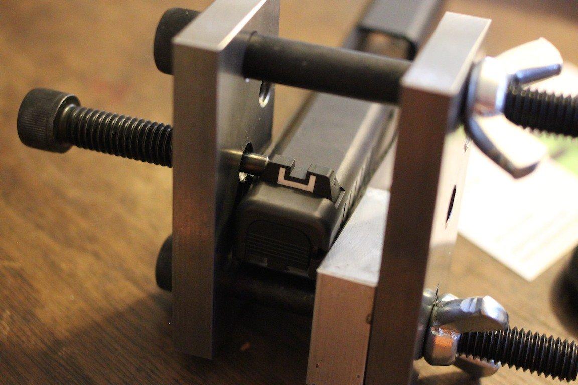 Jennings Machine Sight Pusher And Truglo Glock Sights Gunsamerica