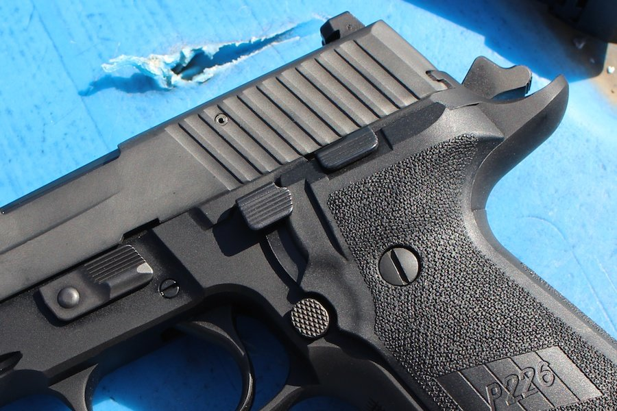 The Best SIG P226? The TacOps-Review - GunsAmerica Digest