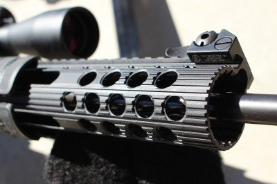 The forend is robust, and ideally suited for conversion into a pump action.