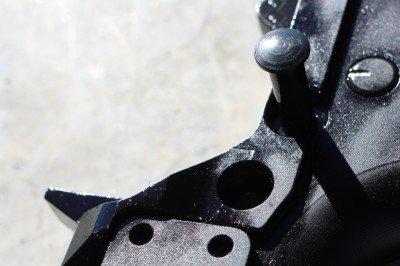 The PAR has several attachment points for quick detach sling mounts.