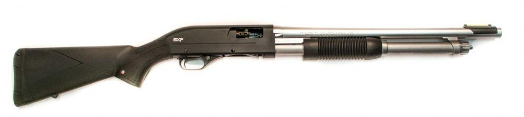 The Winchester SXP Marine shotgun would make a fine bug out shotgun.