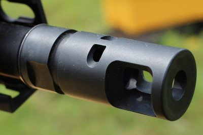 The ported brake works well to hold the muzzle down, which makes follow up shots more reliably accurate.