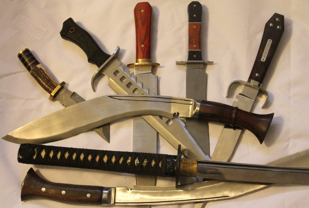 Bowie Knife Vs Kukri Knife Whats Your Fighting Knife
